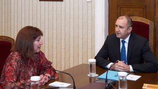 Президентът се срещна с главния съдебен инспектор Теодора Точкова
