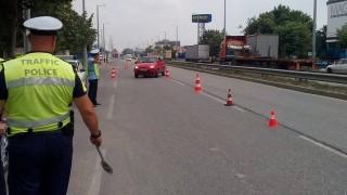 30-годишен без книжка блъсна полицай в Русе