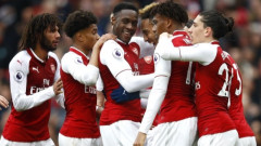 Арсенал с първа победа за сезона, взе едно от дербитата на Лондон