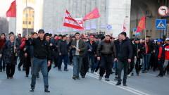 Газ, водно оръдие и зашеметяващи гранати на антиправителствен протест в Бишкек