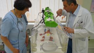"""Спасиха зрението на 4 бебета в """"Токуда"""""""
