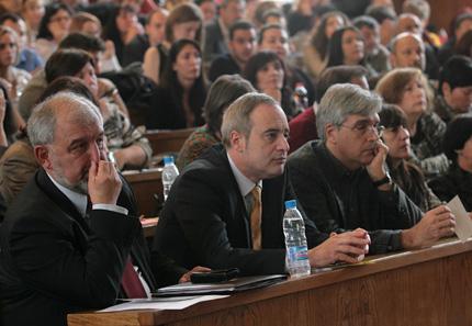 Проф. Анастас Герджиков е 56-тият ректор на Алма матер