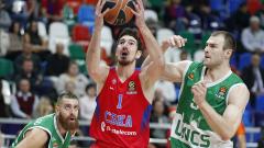 Московският ЦСКА продължава победния си ход в Евролигата