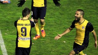 Атлетико пожела шпалир от Барселона