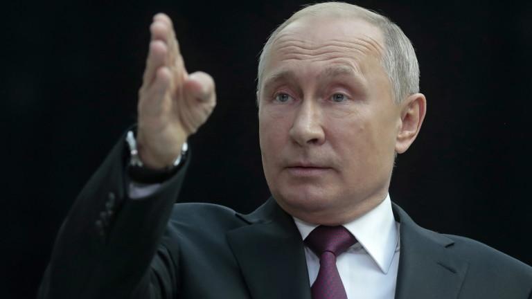 Руският президент Владимир Путин коментира разследването по делото за катастрофатана