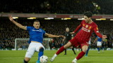 Ливърпул - Евертън 1:0 (Развой на срещата по минути)