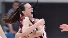 Латвия детронира Сърбия на дамския Евробаскет 2017
