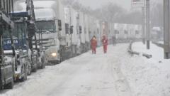 Всички пътища в Силистренска област затворени