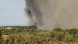 Бедствено положение в Гълъбово заради пожар