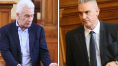 Ръгане и хватки между патриоти в парламента