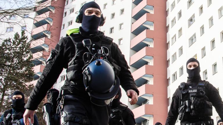 Германските власти проведоха полицейска акция на няколко места в Берлин