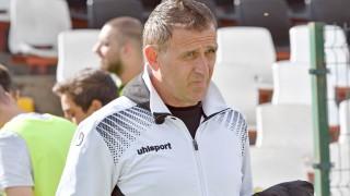 Бруно Акрапович: Гледаме картоните, гледаме с кого играем, резултатът не е най-важен