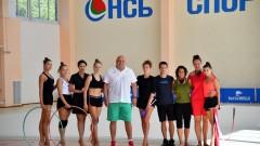 """Министърът на младежта и спорта Красен Кралев посети НСБ """"Спортпалас"""""""