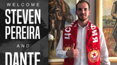 Данте Стипица: Исках да премина в стабилен клуб, целта ми с ЦСКА е титлата