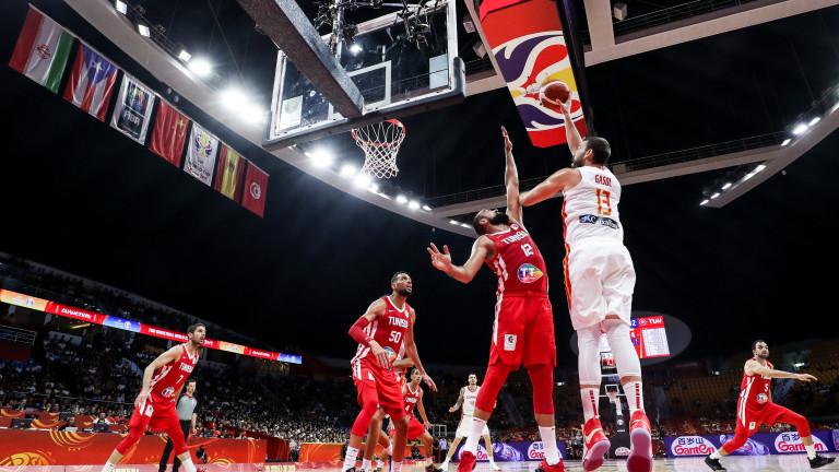 Първи победи за Венецуела и Тунис на Световното по баскетбол в Китай
