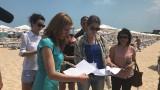 "Изряден плаж ""Слънчев бряг-юг"" отчете Ангелкова"