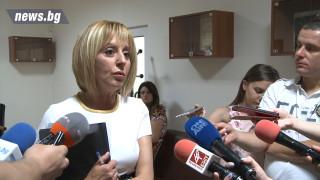 Манолова апелира за подкрепа към законопроекта за личната помощ