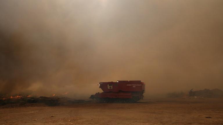 Израел изпраща допълнителна помощ в борбата с огъня в Гърция