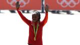Олимпийската шампионка Джемима Сумгонг беше наказана за четири години