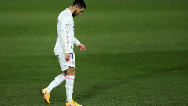 Еден Азар напуска Реал (Мадрид) при идване на Килиан Мбапе