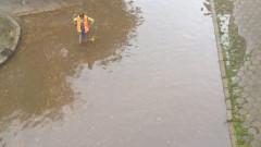 Авария наводни централен булевард в Пловдив