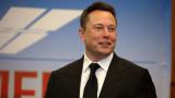 Мъск загуби $16,3 милиарда след срив на акциите на Tesla
