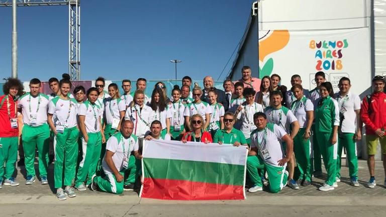 Министърът на спорта Красен Кралев поздрави Мариела Костадинова и Панайот