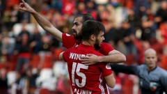 ЦСКА - Берое 2:0, развой на мача по минути