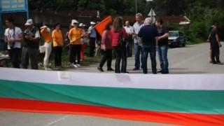 Жители от 16 населени места блокираха пътя Кубрат-Разград