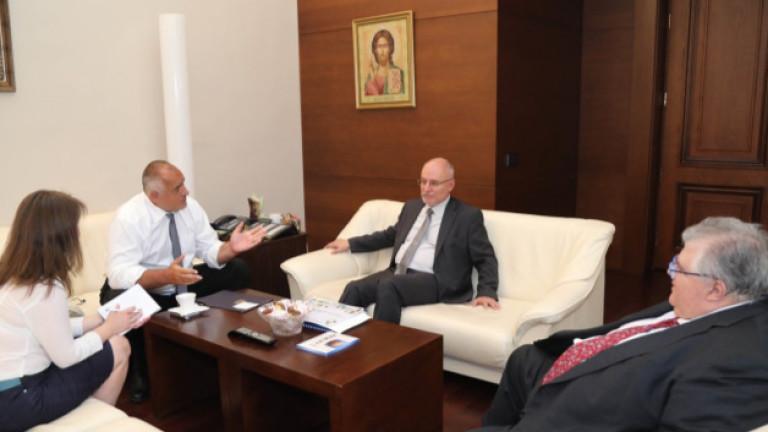 Борисов обсъжда глобалната икономика и финансови пазари с БМР