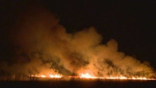 Горски гасиха повече от 15 часа пожар в Етрополе