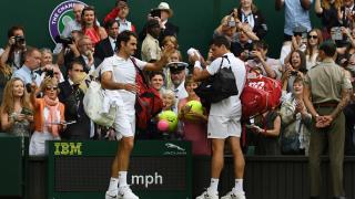 Маестро Федерер преклони глава пред блестящ Раонич