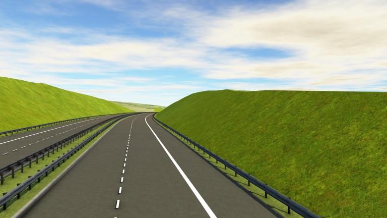 От днес започва строителството на 16,3 км от автомагистрала