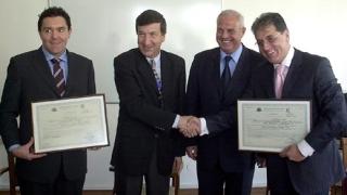 Дадоха сертификат инвеститор 1 клас на голф проект