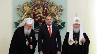 """Румен Радев защитил """"всяка капка кръв и всяка жертва"""" в разговора с патриарх Кирил"""