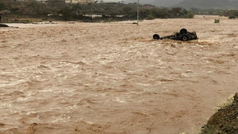 Снимка: Дванадесет души са загинали в наводнения в Саудитска Арабия