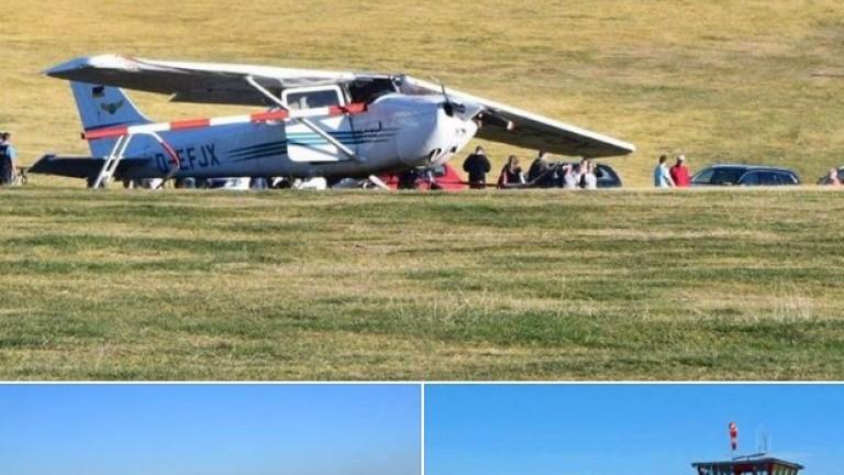 Дете загина в самолетна катастрофа в Германия