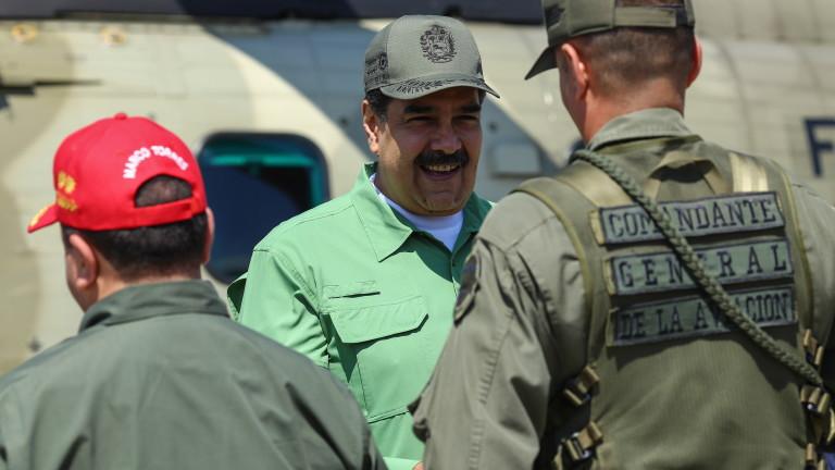 Снимка: С 1 млрд. евро Мадуро иска да остане на власт