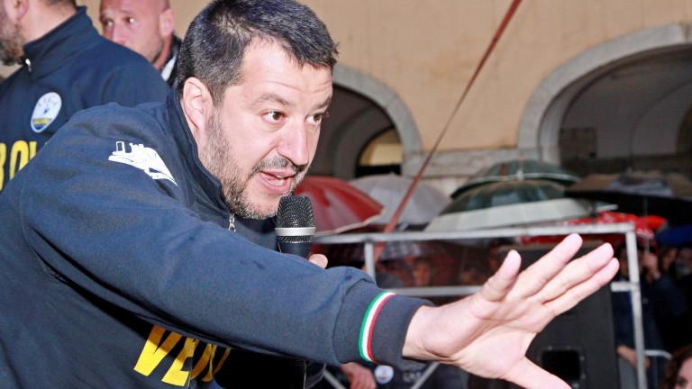 Разследват Матео Салвини за използване на служебен самолет