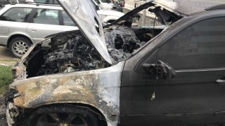 Разследват палеж на автомобил в центъра на Русе