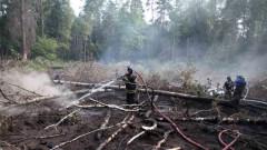 Пожар до Чернобил, има повишени нива на радиация