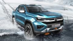 Volkswagen Amarok 2022 приближава пикапа до ново поколение