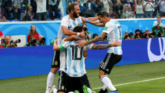 Нигерия - Аржентина 1:2, гол на Рохо