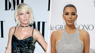 Ким Кардашиян в лют скандал с Тейлър Суифт