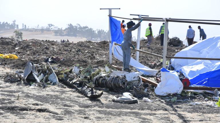 Снимка: Авиоследователи: Системата за контрол е задействана преди етиопската катастрофа