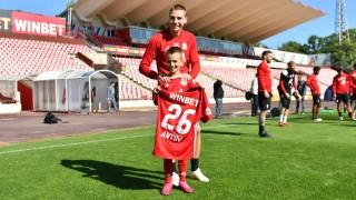 Скаут на Уест Хем ще гледа млад футболист на ЦСКА срещу Лудогорец