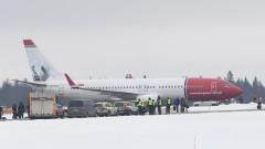 Норвежки самолет кацна в Стокхолм заради бомбена заплаха