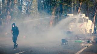 Полицията в Брюксел разпръсна първоаприлски фестивал