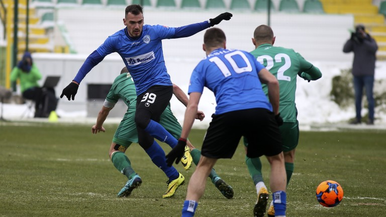 Витоша (Бистрица) - Черно море 1:1, Лазаров връща домакините в мача!