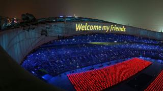 С грандиозна церемония откриха игрите в Пекин